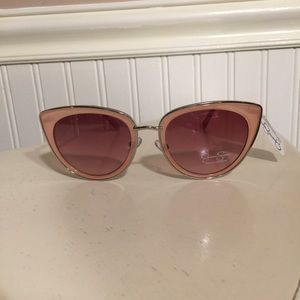 Jessica Simpson pink sunglasses NWT